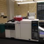 Gas chromatography mass spectrometer