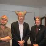 Alexei Savchenko (University of Toronto), Robert Hancock (University of British Columbia) and Paul Santerre (University of Toronto)