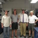 Alexei Savchenko (University of Toronto), Aled Edwards (University of Toronto and Structural Genomics Consortium), John Gerlt (University of Illinois) and Alexander Yakunin (University of Toronto)