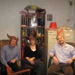 Sylvain Moineau (Laval University), Josiane Garneau (Laval University) and Alexei Savchenko (University of Toronto)